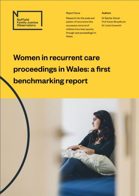 Women in Recurrent Care Proceedings in Wales: a first benchmarking report