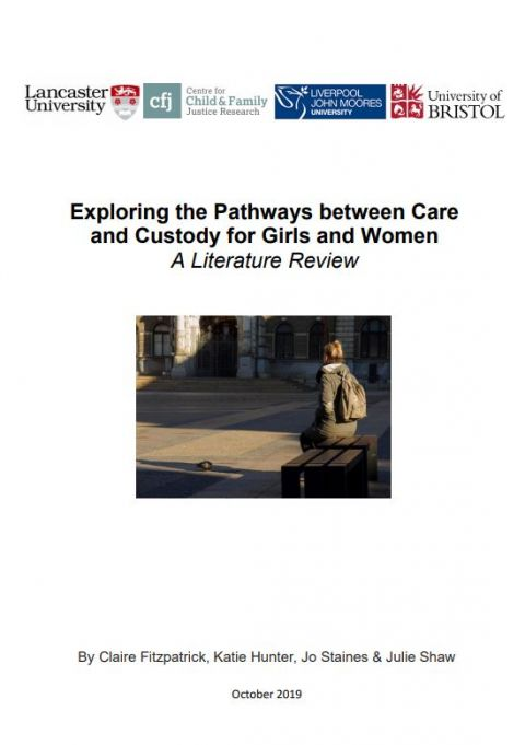 Exploring the Pathways between Care and Custody for Girls and Women: A Literature Review