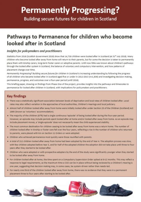 Policy Briefing: Pathways to Permanence