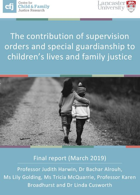 The contribution of supervision orders and special guardianship to children's lives and family justice - final report