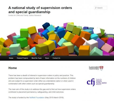 Supervision Orders and Special Guardianship