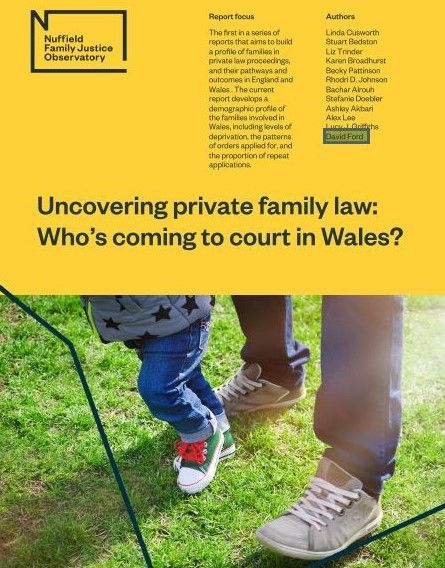 Uncovering private family law: Who's coming to court in Wales