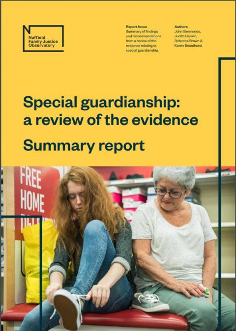 Special Guardianship: a review of the evidence - summary report