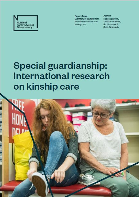 Special guardianship: international research on kinship care