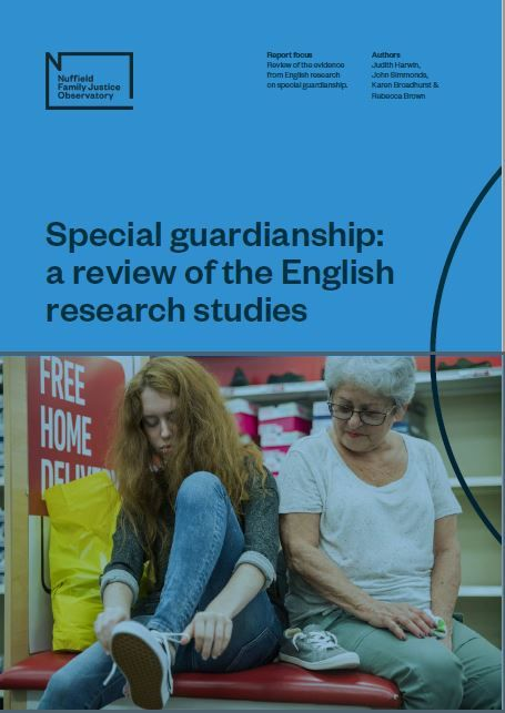 Special Guardianship: a review of the English research studies