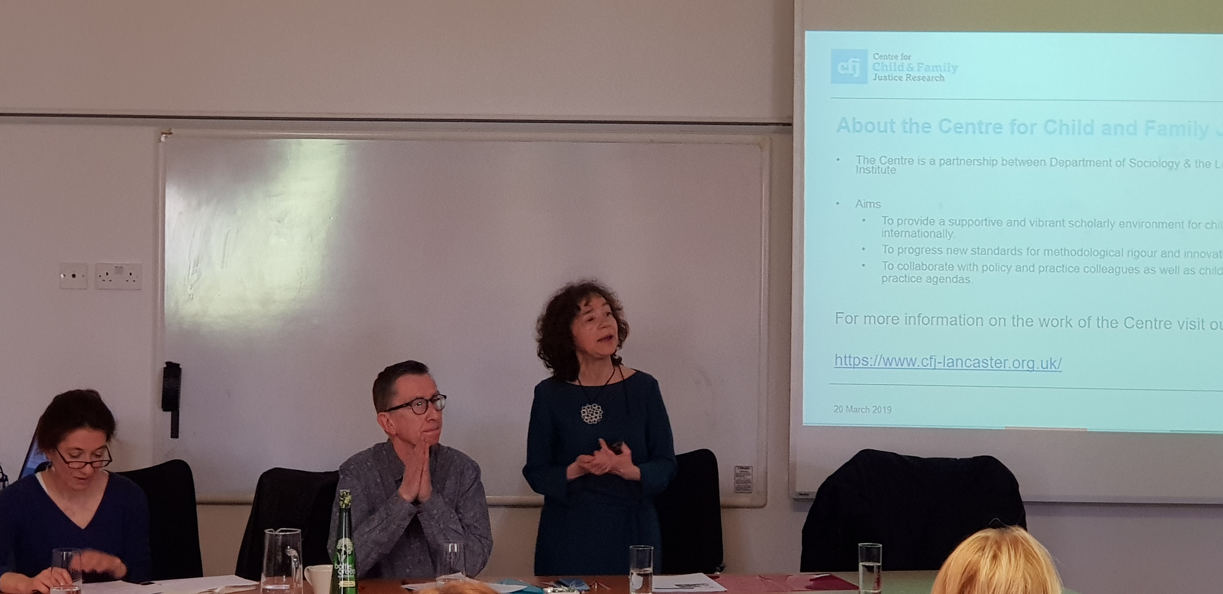 Slides and photos now available from the 20th March 2019 seminar: Children, Care and Inequality