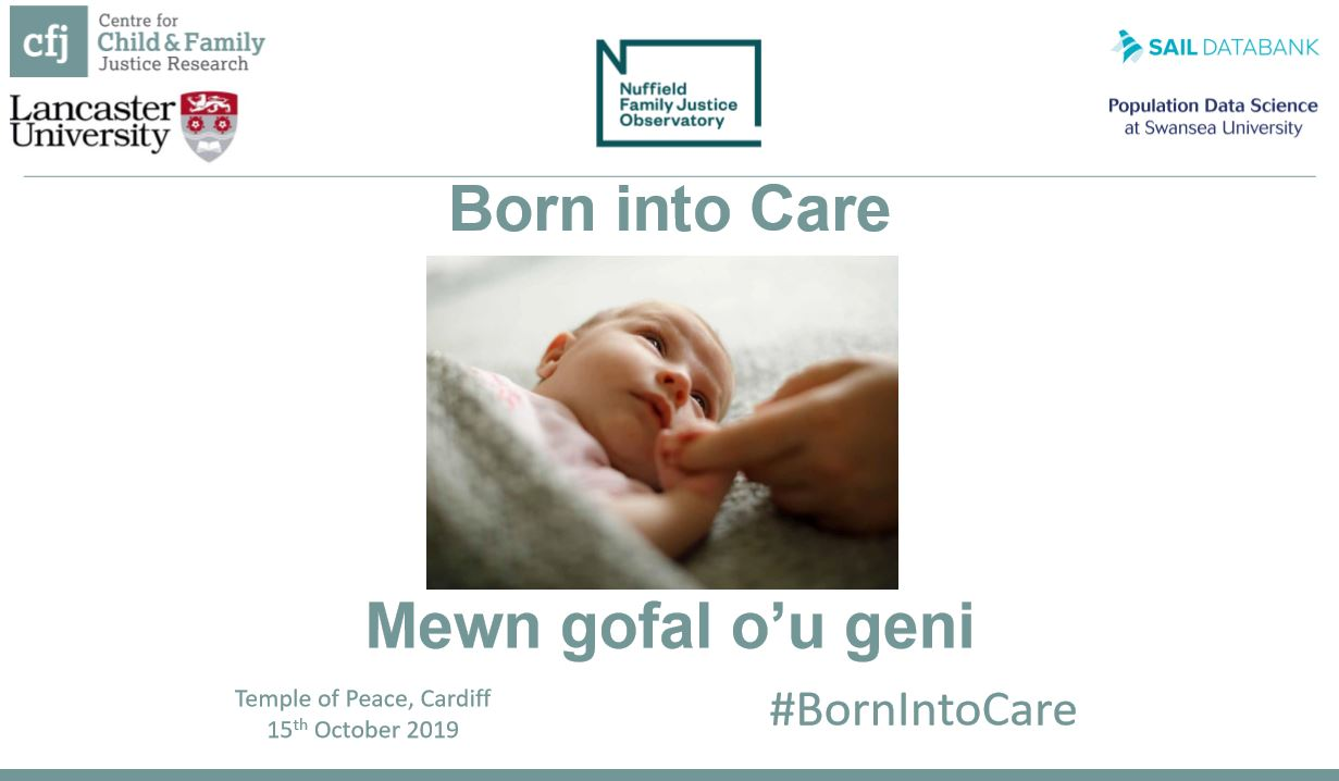 Now available: slideshow from Born into Care: Wales